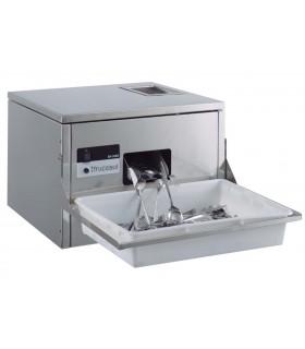 Depósito gn acero inox 2/1 34.4l 0.8mm sunnex 100mm