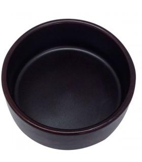 Tenaza cocina retractil 30cm inox c/puntas nylon negra