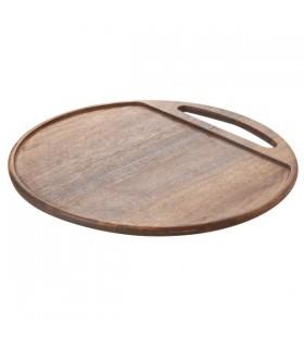 Brocha sintetica bca 18x2cm c/banda metal madera winco