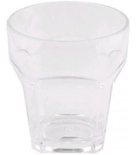 Vaso bebida luna 340ml alto alt 13.7cm 7.6cm vid bormioli
