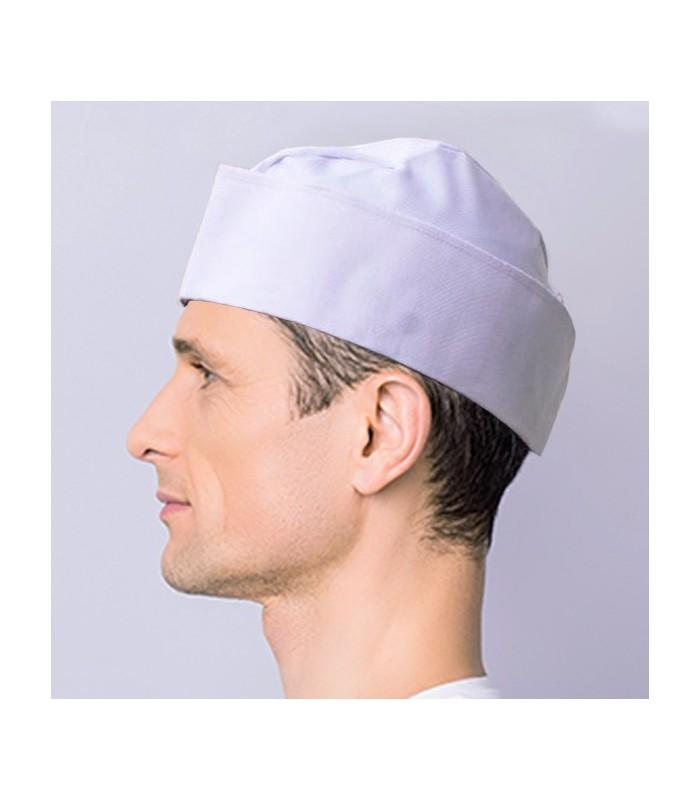 Gorro Chef Miliciano Blanco