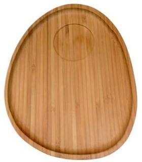 Espátula cocina 27cm madera rect big chef